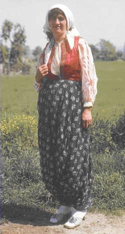 Folk costumes still worn Europe albania woman