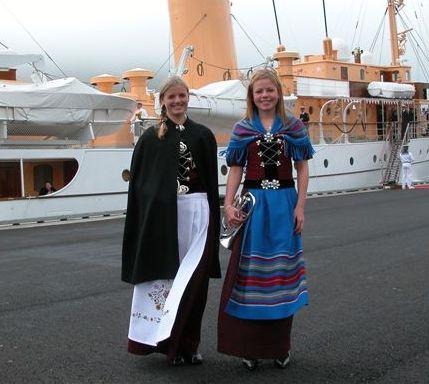 european countries still use traditional clothes denmark faroe royal visit