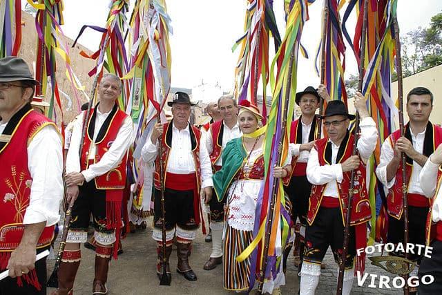 european countries still use traditional clothes spain romeria orotava