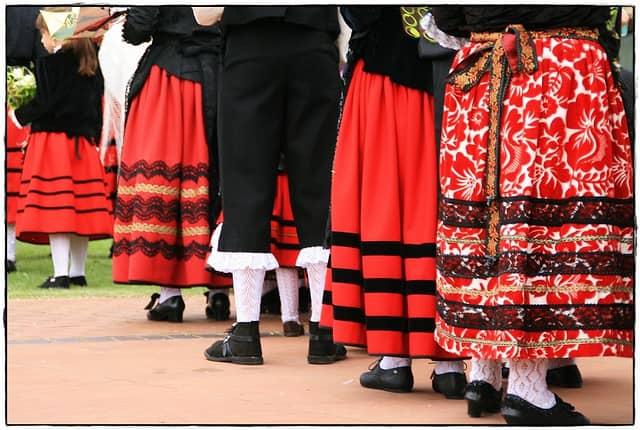 european countries still use traditional clothes spain romeria soria castilla y leon