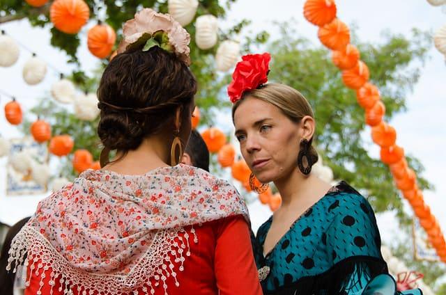 european countries still use traditional clothes spain sevilla fair 2