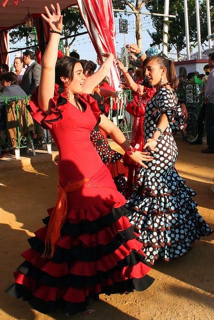 european countries still use traditional clothes spain sevilla fair 6