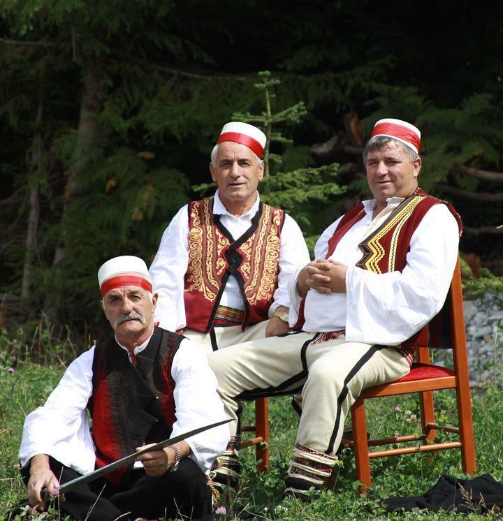Folk costumes still worn Europe albania men 1 1