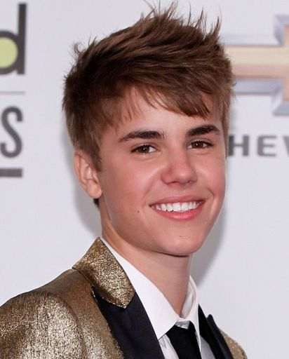 Close up of Justin smiling