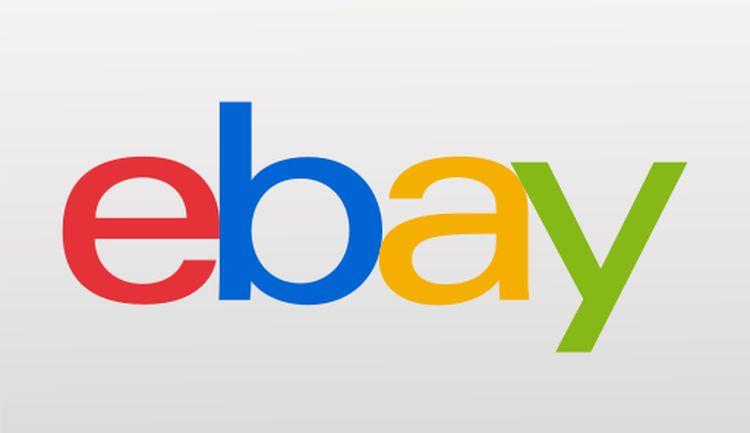 Logo of eBay.