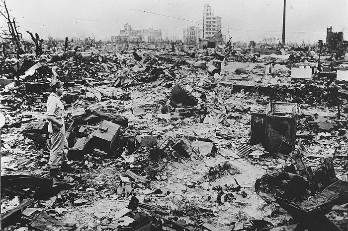 hiroshima nagasaki bombing pictures devastation a