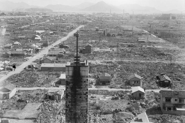 hiroshima nagasaki bombing pictures devastation