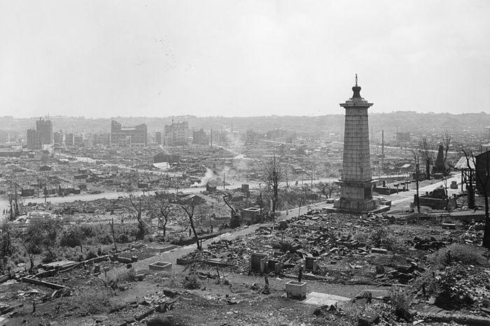 hiroshima nagasaki bombing pictures nagasaki destruction 1a