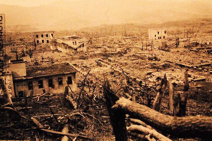 hiroshima nagasaki bombing pictures nagasaki destruction 3a