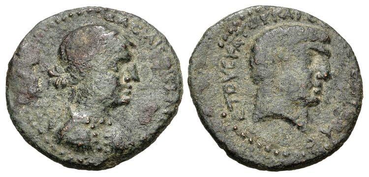 cleopatra coins antony 4 rd