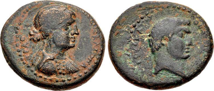 cleopatra coins antony 5 rd