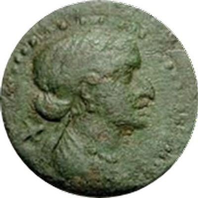 cleopatra coins minted orthoseia 35 bc 1 rd