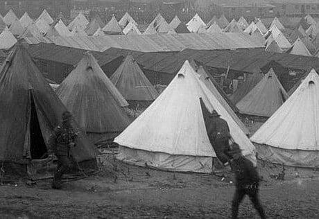 spanish flu key to spread war france etaples camp ft