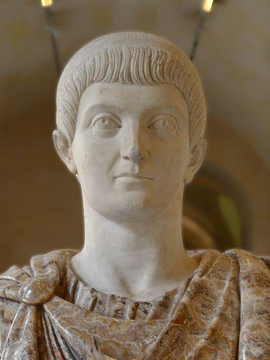 roman emperors faces constans marble head louvre 3 1 1