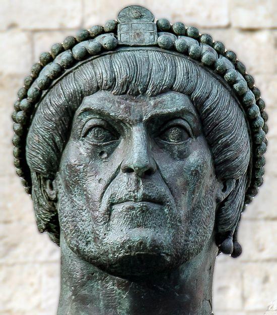 roman emperors faces likely valentinian i colossus barletta 2 1 1