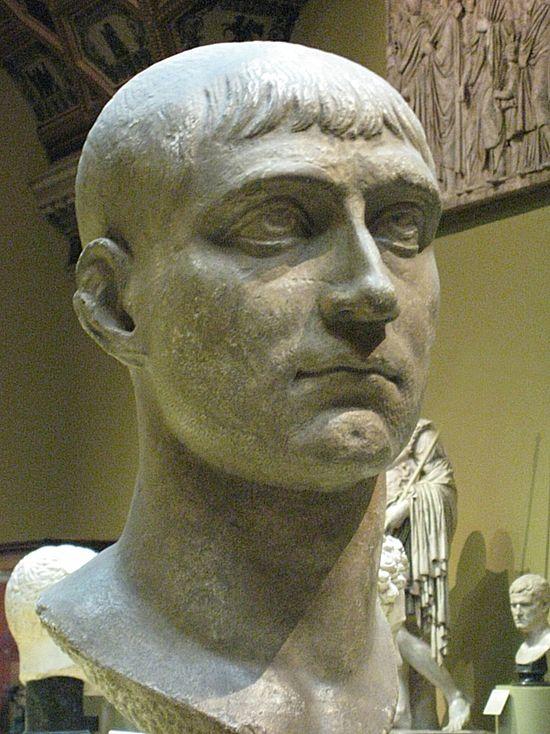 roman emperors faces maxentius plaster pushkin 1 1 1