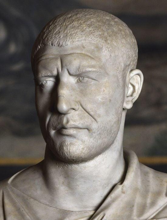 roman emperors looks philip the arab marble bust vatican 1 1 1