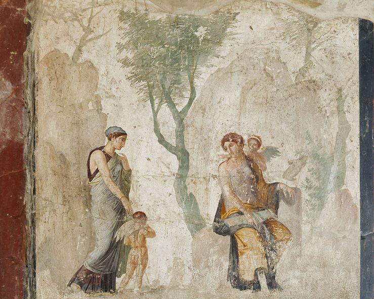pompeii frescoes House of Punished Love eros 1