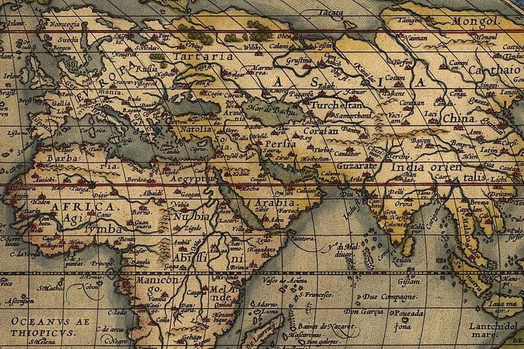 ancient maps world ortelius flemish 1570 3 2
