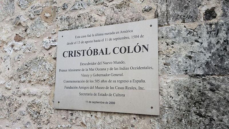 A silver plaque.