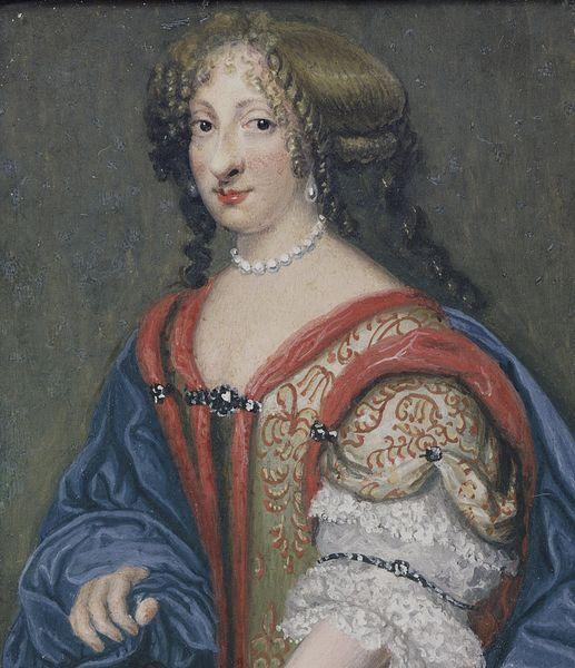unflattering royal portraits Ulrika Eleonora miniature 18th cent 1 1