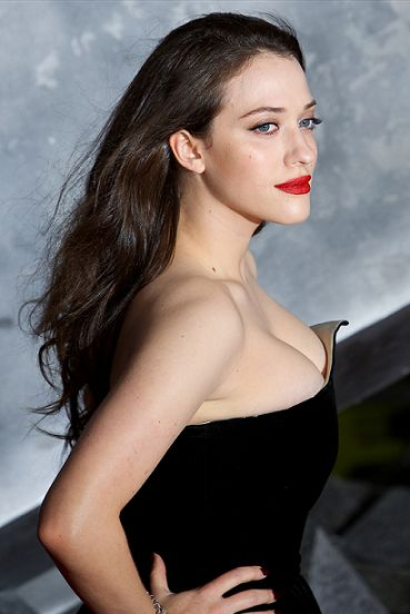 Photo of Kat Dennings on the red carpet.
